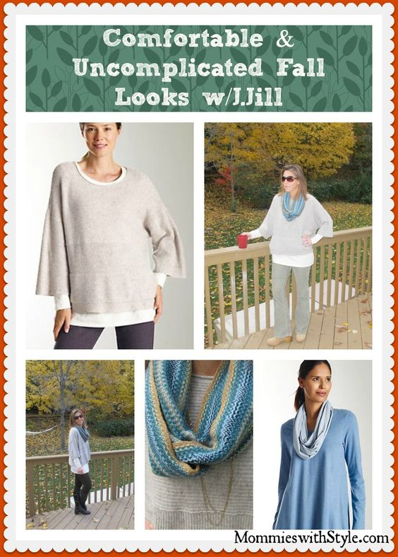 Comfort & Style w/J.Jill fall outfits --> I'll go with uncomplicated. thanks @Whitney Wingerd - Mommies with Style