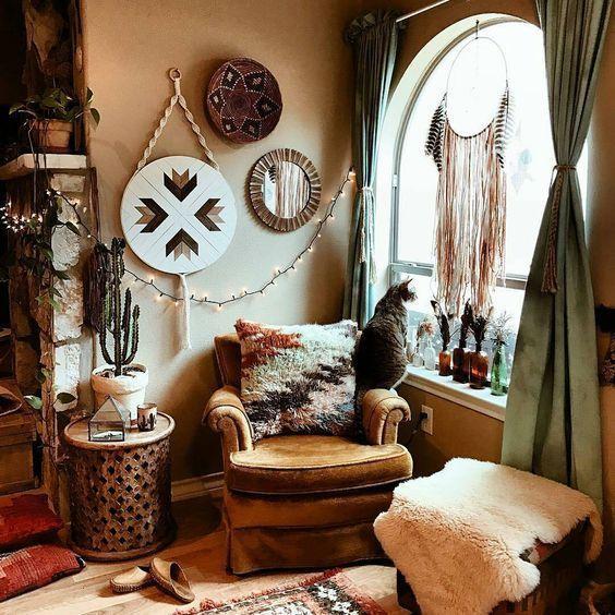 30 Bohemian Home Decor Ideas For A Boho Chic Space Eclectic Home Boho Living Room Decor Boho Apartment Decor Living room boho decor ideas