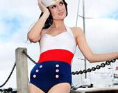 Super cute nautical treasury featuring my Sailor Girl earrings & other great sailing-inspired items!