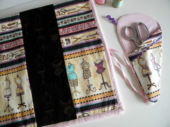 Mrs. Sew & Sew offers the prefect accessories for any sewing room. Designs by City Chic Country Mouse.