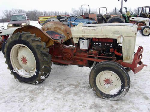 Ford 601 Tractor Salvaged For Used Parts. This Unit Is