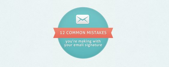 12 common mistakes youu0027re making with your email signature - http - email signature example