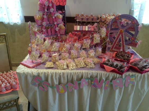 Mesa de dulces baby shower