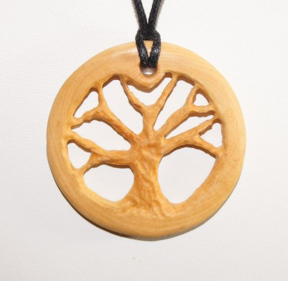 custom Wood Pendants | Request a custom order and have something made just for you.