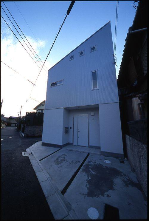 シンプルな1ldkの家 家 狭小住宅 住宅