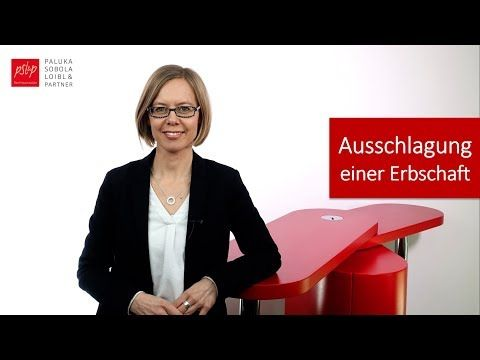 Taktische Ausschlagung Einer Erbschaft 6 Wochen Frist Beachten Youtube Erbschaft Erbrecht Gesellschaftsrecht