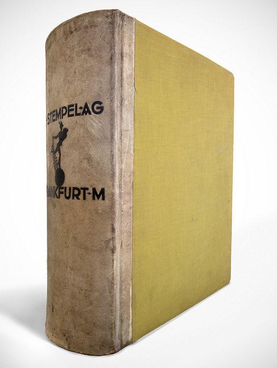 Hauptprobe der Schriftgiesserei und Messinglinienfabrik D.Stempel AG (1927) | by Nile Peterson