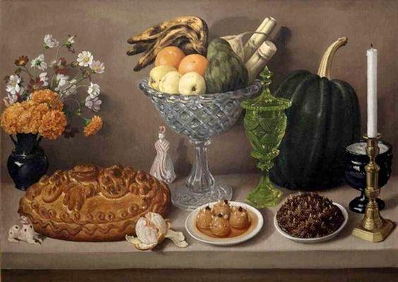José Agustín Arrieta (1803-1874) — Dining Table  (775x550)