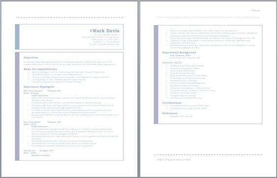 Audit Associate Resume resume sample Pinterest Sample resume - audit associate resume