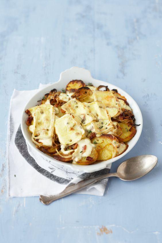 Rezept Kartoffel-Käse-Gratin (Tartiflette)