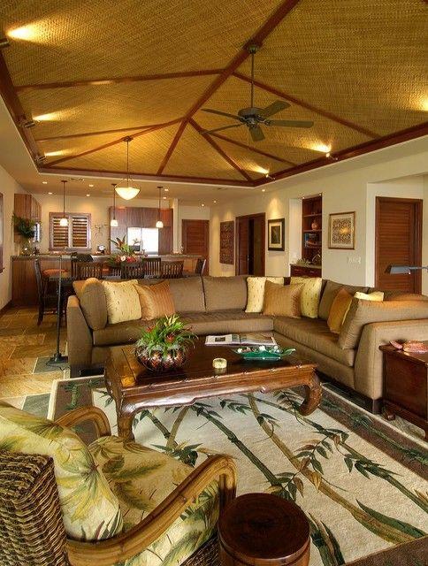 Most Popular Hawaii Living Room Design Ideas Hawaiiandecoratedrooms Hawaiian Homes Tropical Living Room Hawaiian Home Decor #tropical #themed #living #room