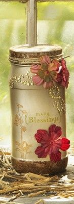 Create a new tradition with a Many Blessings Jar, a great way to start the new year. Write something each day that you're thankful for and add it to the jar