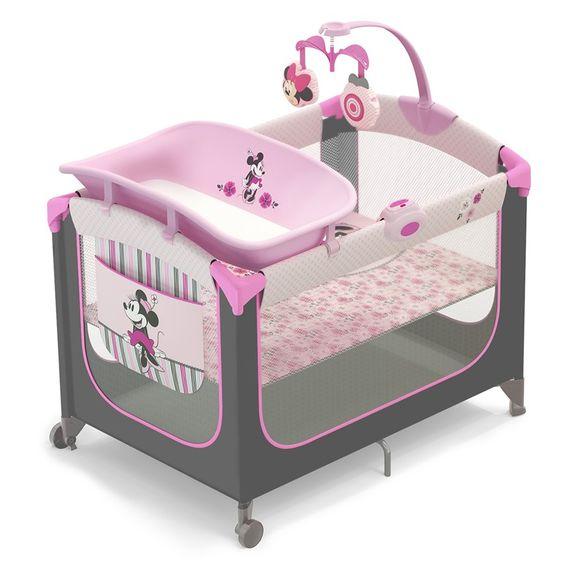 disney playard minnie mouse | Minnie Mouse Precious Petals Playard 341144310 | Baby Play Yards ...