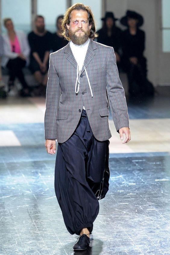 Yohji Yamamoto Spring 2013 Menswear Collection - Fashion on TheCut