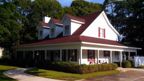Image Result For House With Red Shingle Roof Architectural Shingles Roof Shingles House Styles