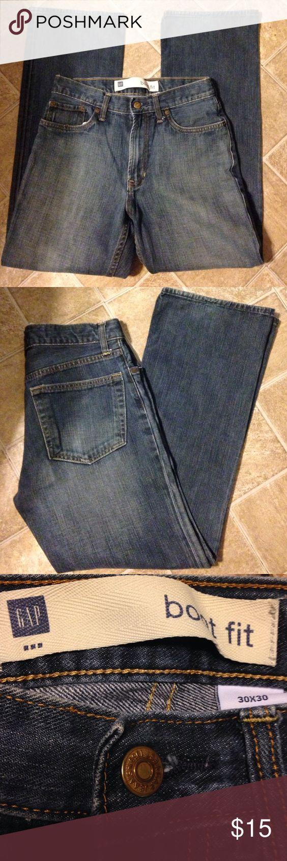 Gap boot fit jeans. Sz 30 x 30 Gap boot fit jeans. Sz 30 x 30. GAP Jeans Bootcut