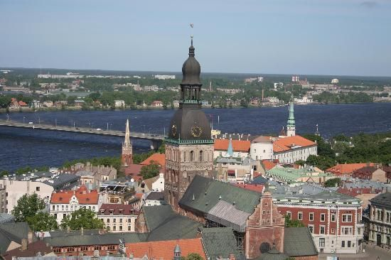 Riga, Latvia. We sang in that cathedral.