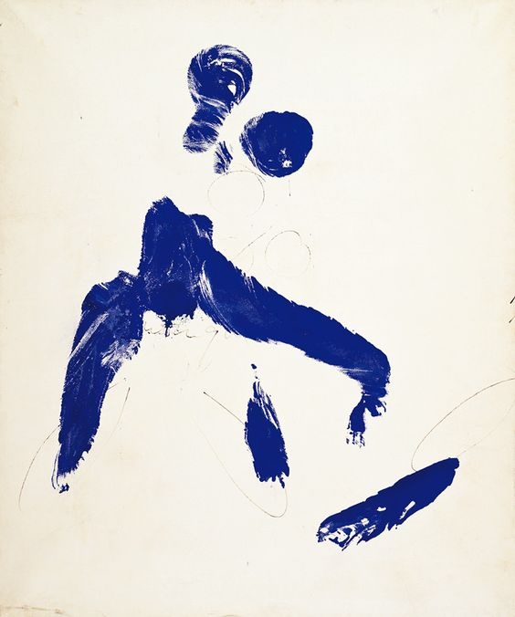 Yves Klein | Painting Performance Paint: