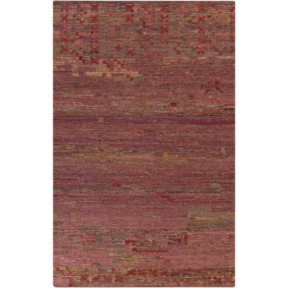 Hand-Woven Leonard Abstract Reversible Rug (5' x 8') (Multi-(5' x 8')), Multi, Size 5' x 8'