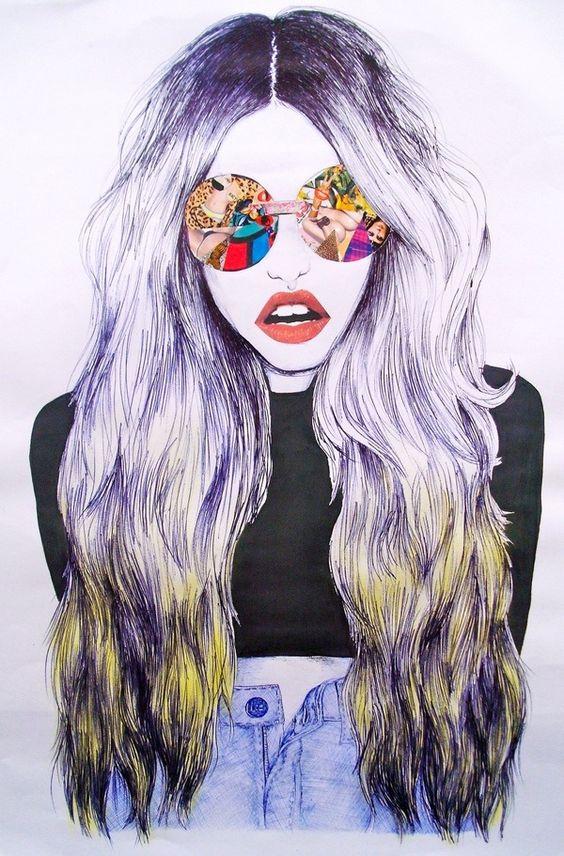We Love This Urban Illustration Style Fashion Art