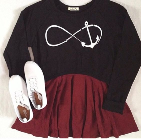 Casual cute outfit: