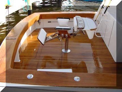 Design Your Own Synthetic Teak Decking Boat Flooring With