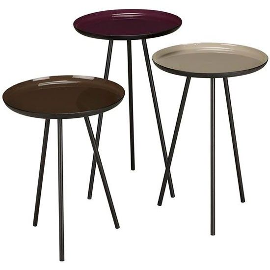 Good Content By Conran Accents Round Side Tables With Metallic Top By John Lewis  | Living Room Shopping Ideas   10 Of The Best | Housetohome.co.uk |  Pinterest ... Part 31