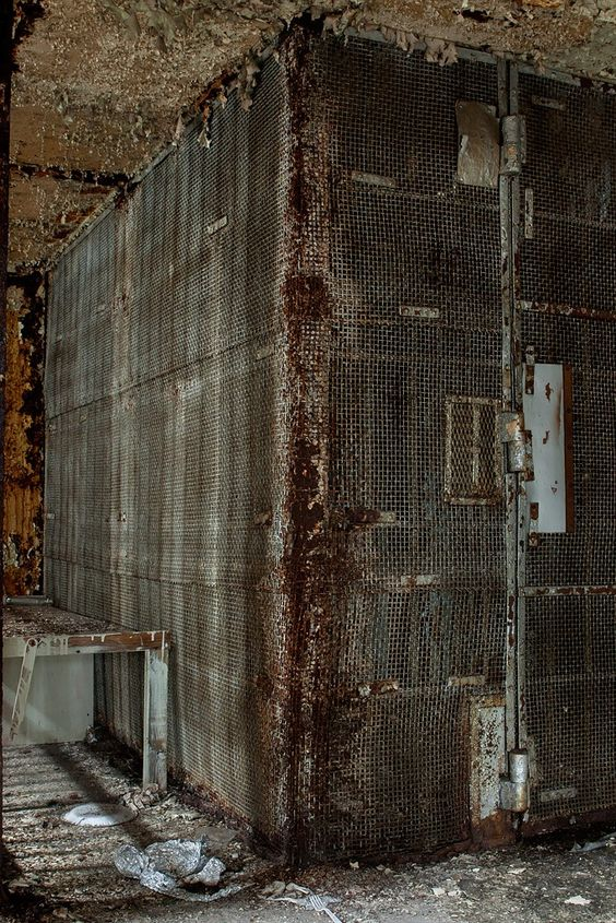 Bad Room - Photo of the Abandoned Old Essex County Jail