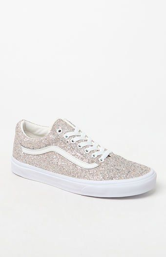 the best attitude a5cba 0e4f9 Pin by Katrina Escobar on BRILLO  Vans shoes old skool, Vans sneakers,  Glitter tennis shoes