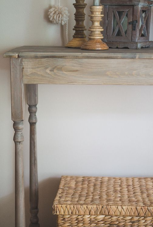 Diy Console Table Stains Minwax And In Love