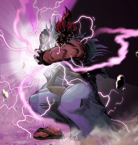 雷を纏う拳