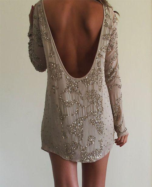 Love.: Back Dresses, Backless Dresses, Low Back Dress, Open Backs, New Years