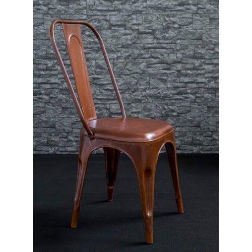 Sedie In Ferro Vintage.Set Di Sedie In Ferro Effetto Ruggine Rust Arredamento In Stile
