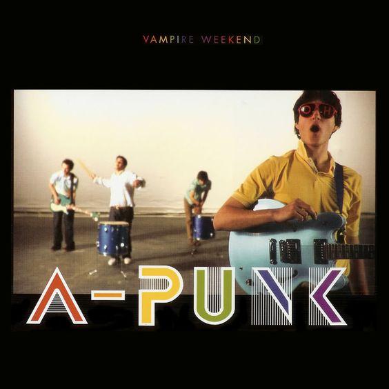 Vampire Weekend – A-Punk (single cover art)