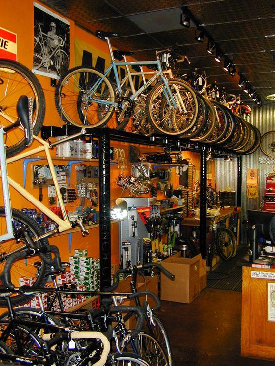 OOOO a bike shop. Like a Supermarket