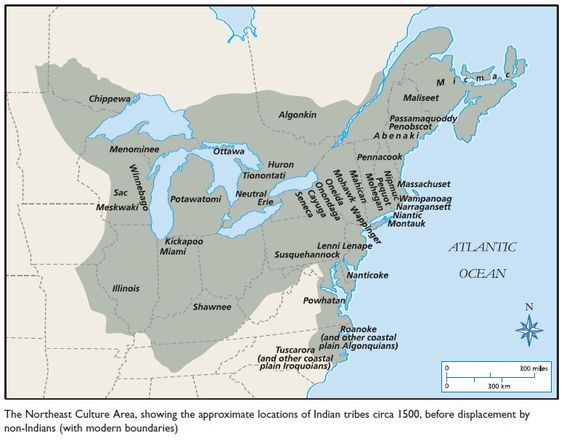 Pawnee indians population graph?