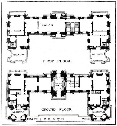 Ch Teau De Maisons Lafitte Floor Plans Castles