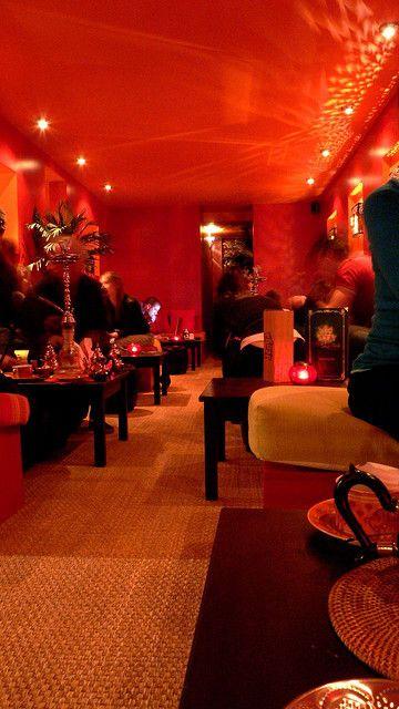Photos lounges and montreal on pinterest - Shisha bar lounge mobel ...