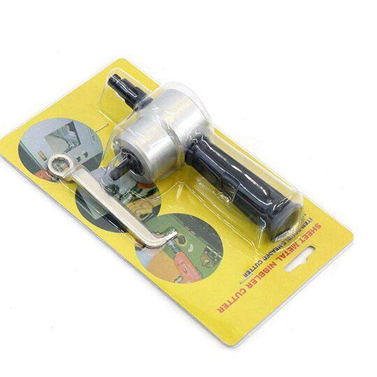 Double Head Sheet Metal Nibbler Cutter In 2020 Metal Cutter Sheet Metal Cutter