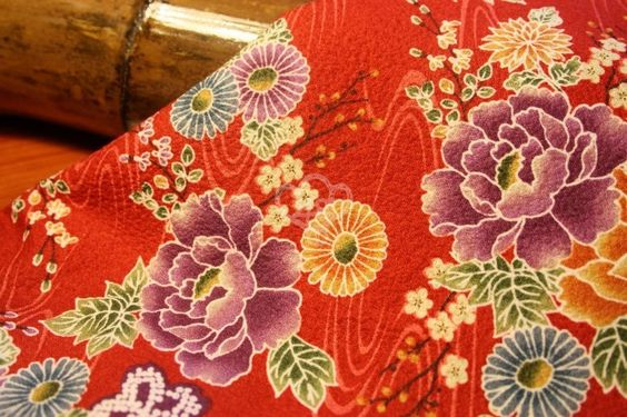Excelent quality traditional kimono fabrics, imported directly from Japan. 100% cotton, medium weight. Perfect print with a smooth texture.Well se...