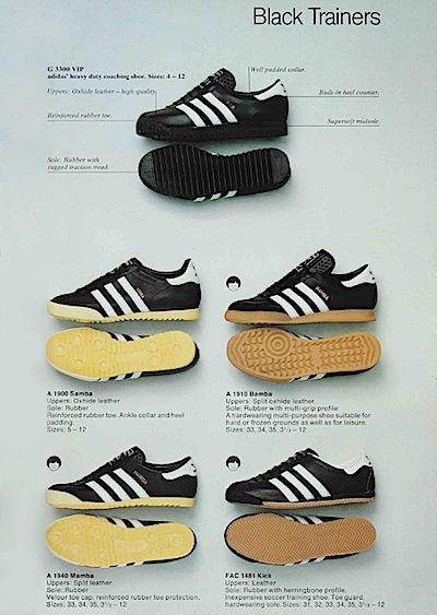 adidas kick trainers 1980