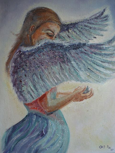 Angel Oil Paintings | Angel Oil Painting | Flickr - Photo Sharing!