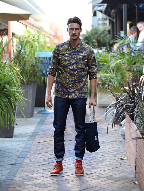 Cool look bro #fashion