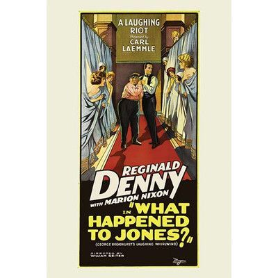 Buyenlarge 'What Happened to Jones?' Vintage Advertisement