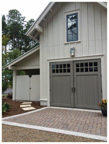 Garage car garage and golf carts on pinterest for Garage door colors