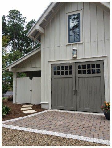 Garage car garage and golf carts on pinterest for One car garage storage