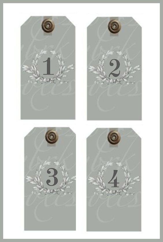Etiquettes Serie Avec Images Calendrier De L Avent Deco