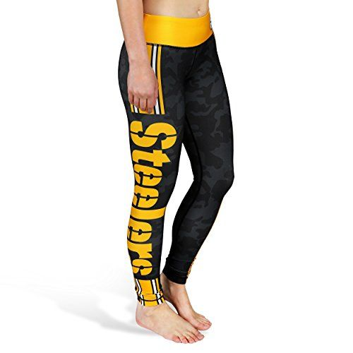Pittsburgh Steelers Team Stripe Legging, Small – New Style Spring 2016