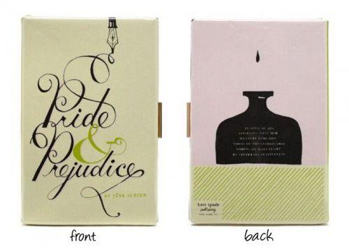 Pride and PrejudiceKate Spade book clutch