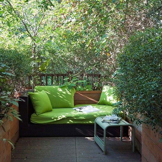 Small Backyard Design Ideas hot backyard design ideas to try now landscaping ideas and hardscape design hgtv Natural Overgrown Garden With Tub Small Garden Design Ideas Decorating Housetohomeco